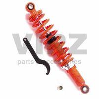 Амортизатор задний (L-330mm,D-10mm,d-10mm) масляный (с ключом), красный