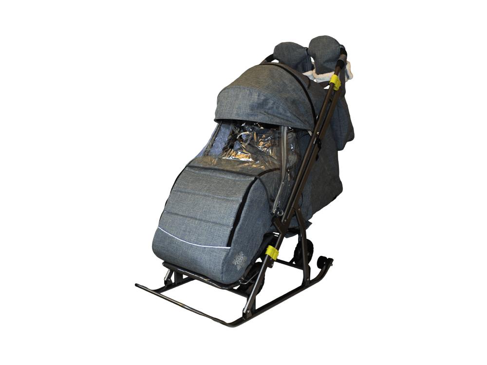 Санки-коляска Галактика kids 3-3С