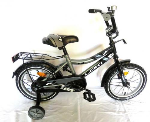 Велосипед Loki cross 20 серый